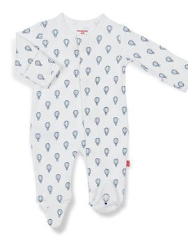 Magnificent Baby Blue Open Sky Magnetic Footie