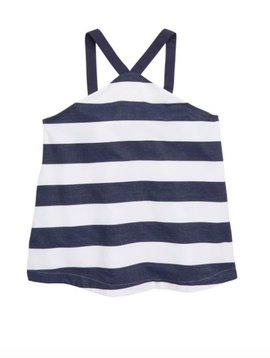 Habitual Navy Harriet Baby Doll Top