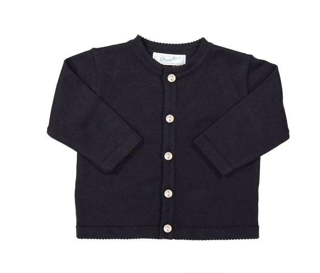 Feltman Brothers Navy Classic Knit Cardigan