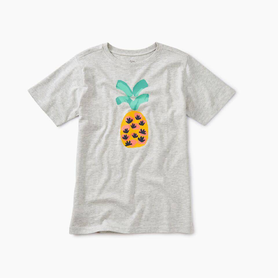 Tea Collection Pineapple Graphic Tee
