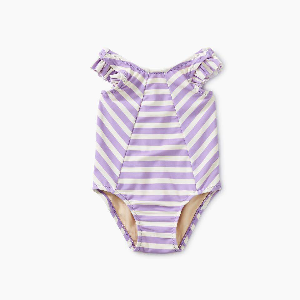 Tea Collection Striped Baby One Piece