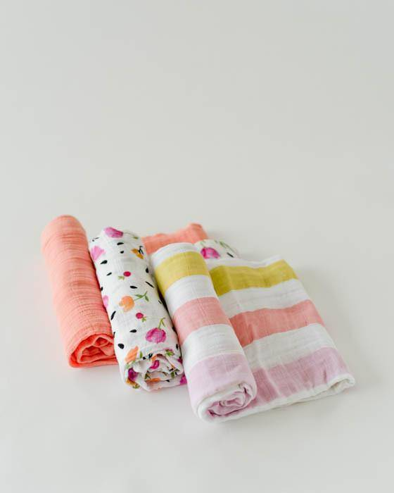 Little Unicorn 3 Pack Swaddle