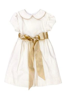 Bailey Boys Khaki Stripe Dress