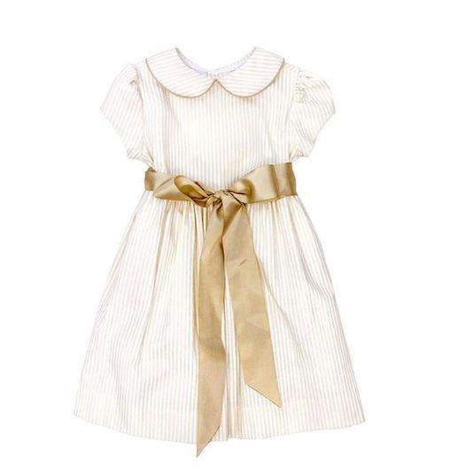 Bailey Boys Khaki Stripe Dress