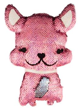 Fashion Angels Magic Sequin Plush French Bulldog