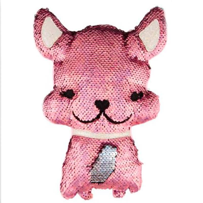 Fashion Angels Magic Sequin Plush French Bulldog