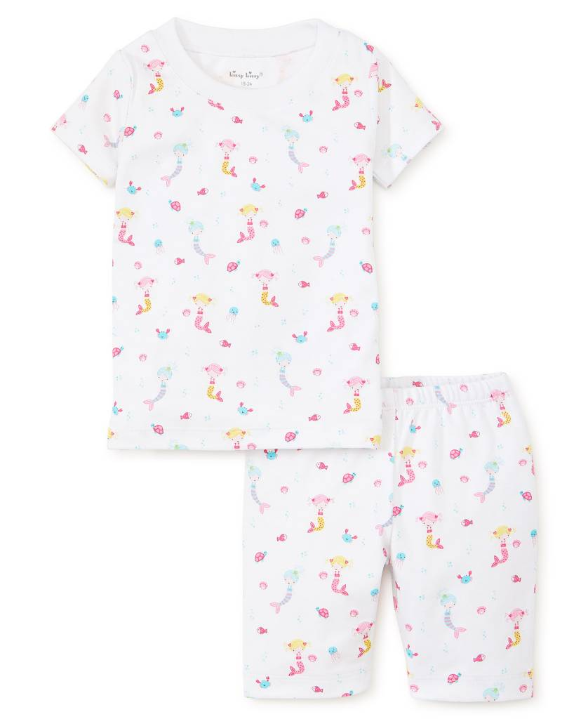 Kissy Kissy Mermaid Fun Pajama Short Set