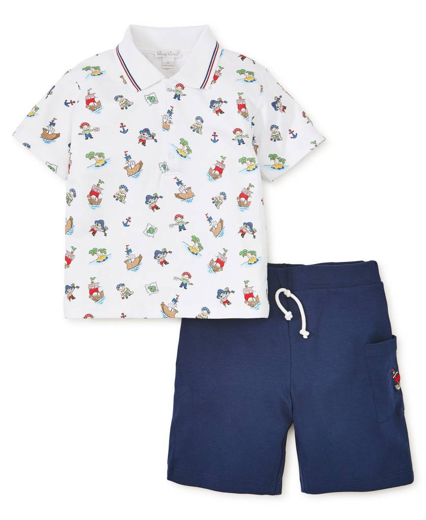 Kissy Kissy Pirate Treasure Bermuda Set