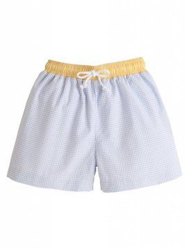 Little English Yellow Swim Trunks