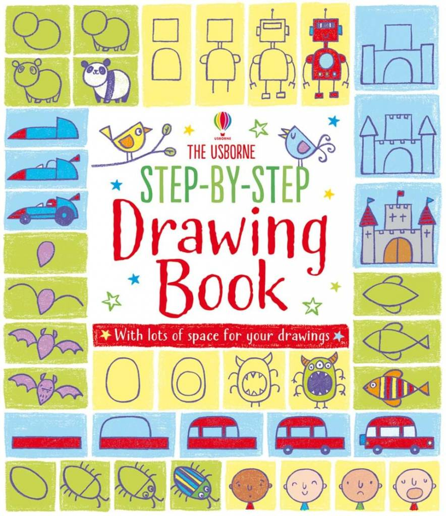 EDC/Usborne Step by Step Drawing Book