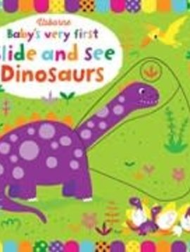 EDC/Usborne First Slide and See Dinosaurs