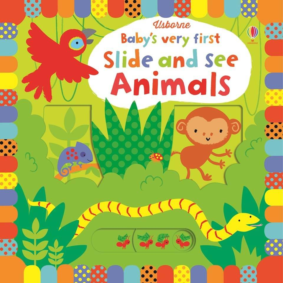 EDC/Usborne First Slide and See Animals
