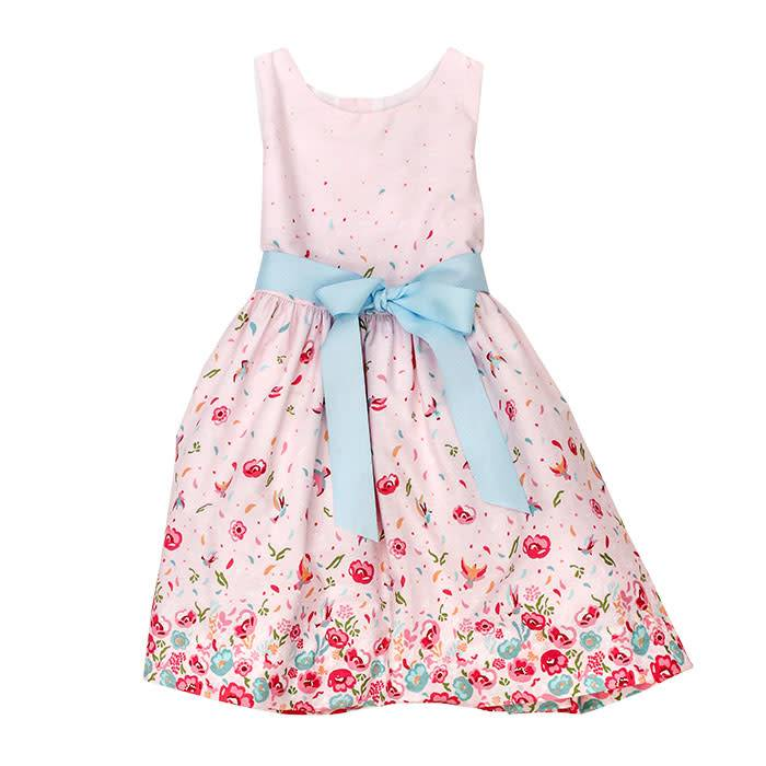 Bailey Boys Pink Floral Dress