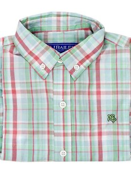 Bailey Boys Tide Plaid Button Down Shirt