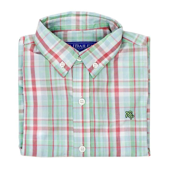 Bailey Boys Tide Plaid Button Down Shirt