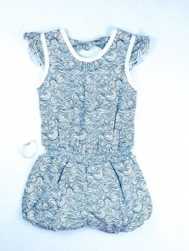 Feather Baby Anime Wave Romper