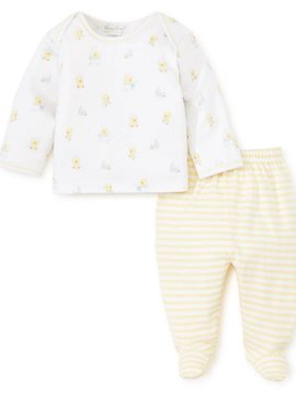 Kissy Kissy Bathtime Bubbles Footed Pant Set