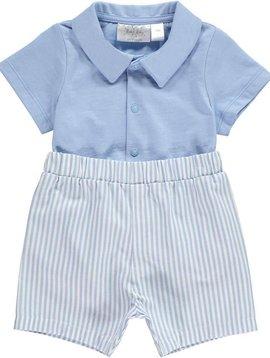 Rachel Riley Striped Short and Jersey Shirt Set