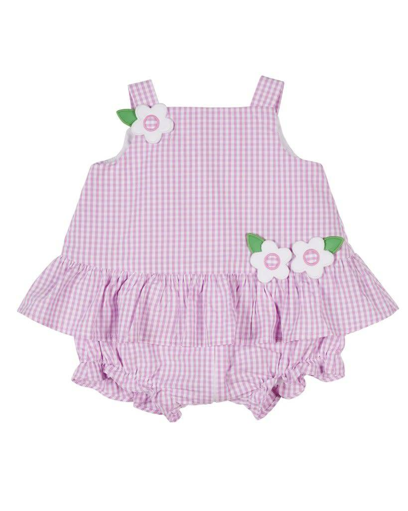 Florence Eiseman Pink All in One Romper