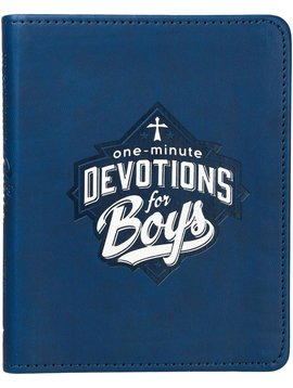 Christian Art Gifts One Minute Devotions for Boys
