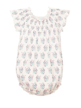 Feather Baby Ruched Bubble