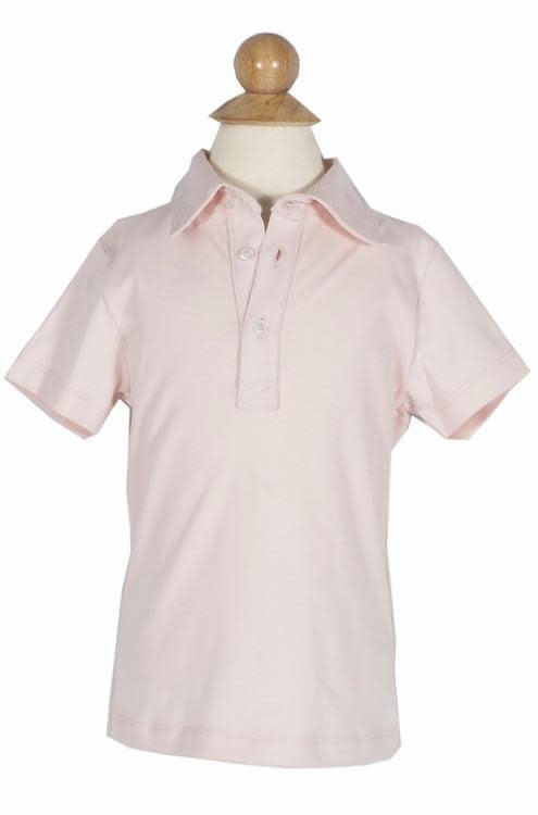 Lila + Hayes Griffin Golf Polo