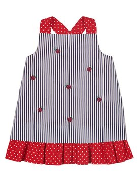 Florence Eiseman Ladybugs & Flowers Dress