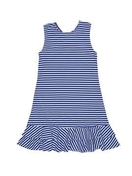 Florence Eiseman Royal Stripe Knit Dress