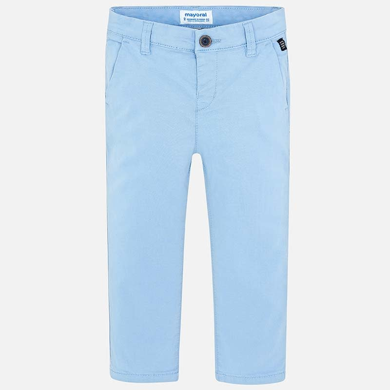 Mayoral Blue Twill Trousers