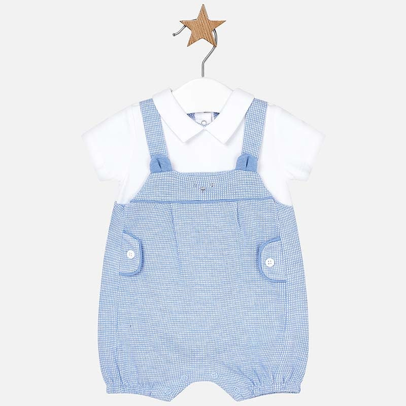 Mayoral Blue Overall