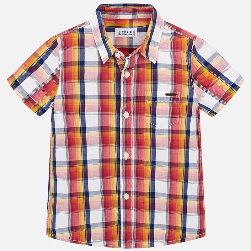 Mayoral Calima Plaid Shirt