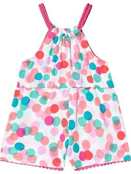 Joules Polka Dot Printed Playsuit