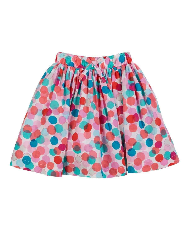 Joules Ariel Polka Dot Skirt