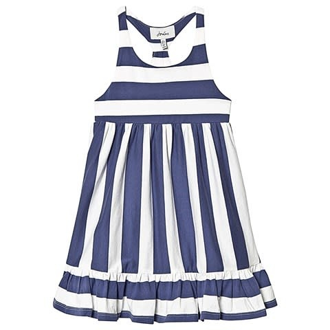 Joules Peplum Midi Dress
