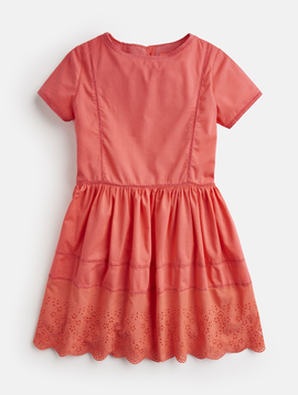 Little Joules Broderie Dress