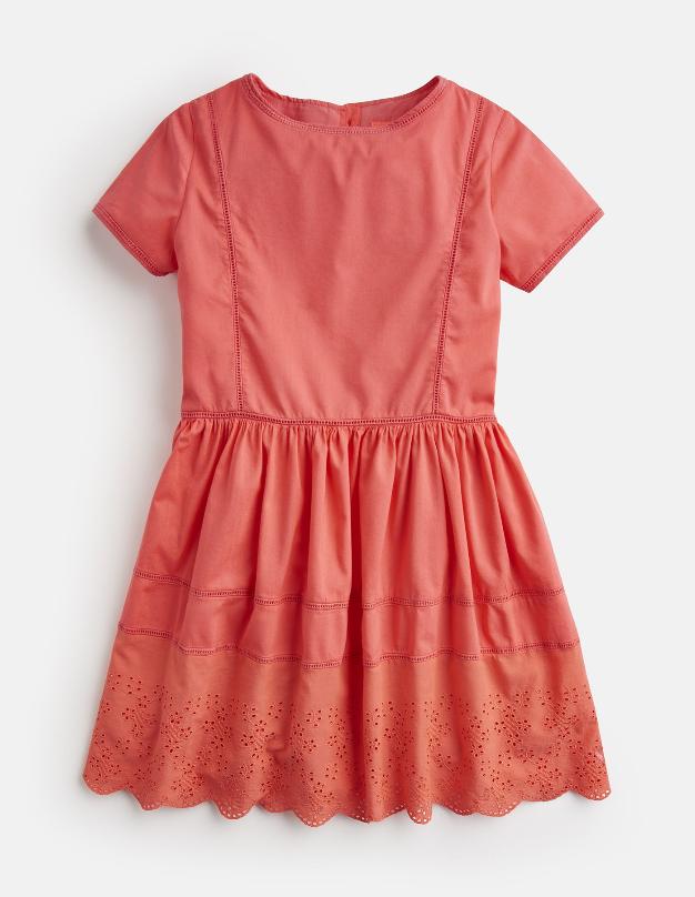 Little Joules Broderie Dress