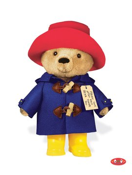 "Yottoy Productions Paddington Bear 10"" Plush"