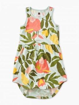 Tea Collection Tropical Skirted Tank Dress