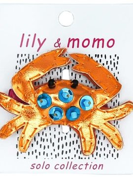 Lily and Momo Cute Crab Clip