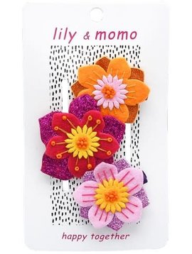 Lily and Momo Aloha Flowers Clip