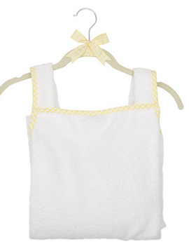 3 Marthas Yellow Gingham Cuddle Dry