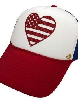 Mother Trucker & co Mother Trucker Hat American Heart