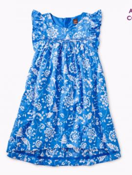 Tea Collection Metiseko Hi-Lo Woven Dress