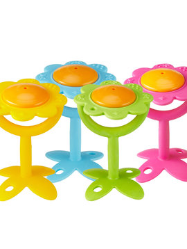 Innobaby Flower EZ Grip Massaging Teether