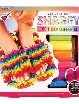 Fashion Angels Latch Hook Slipper Kit (one size)