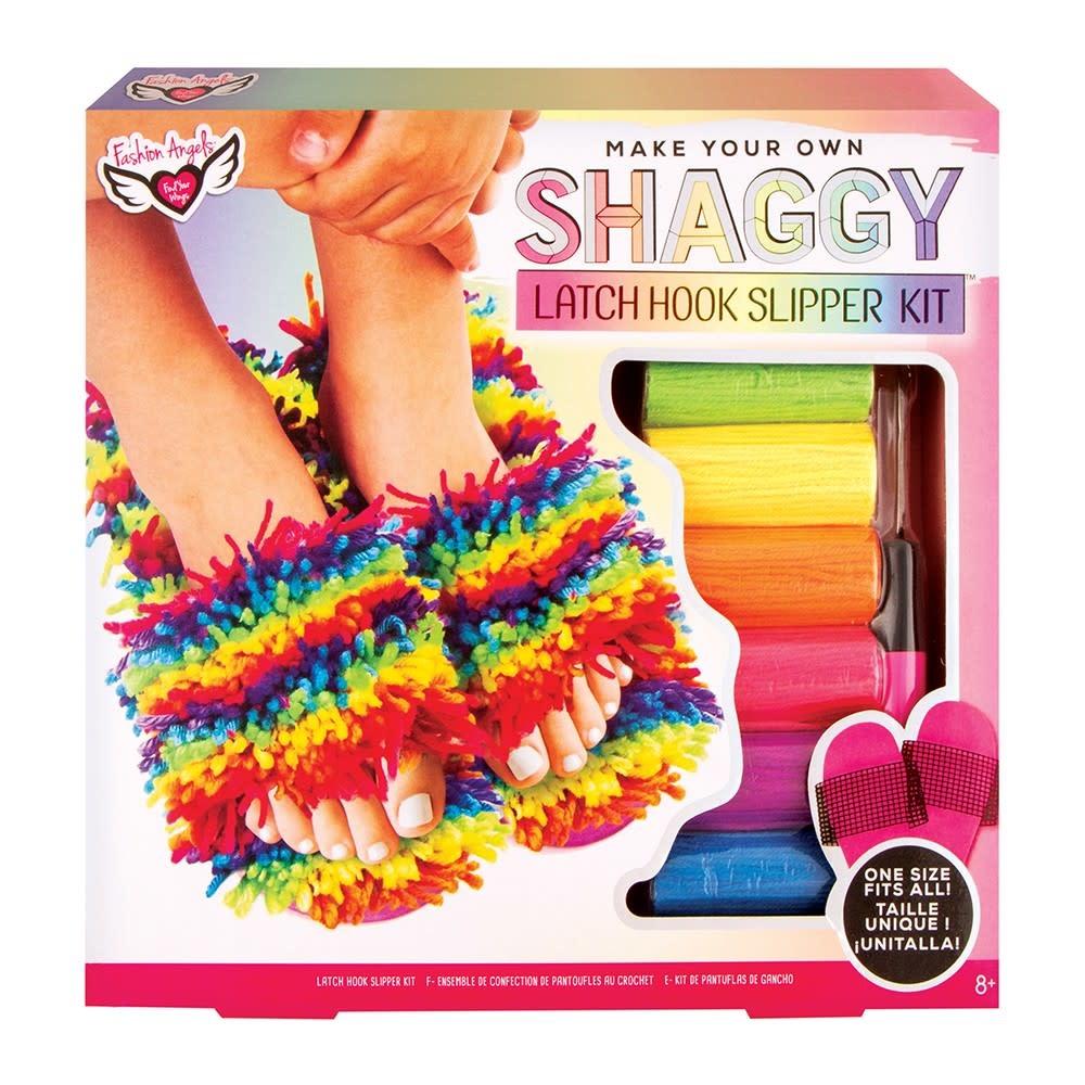 Fashion Angels Latch Hook Slipper Kit (one size)