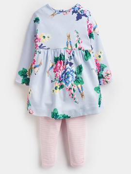 Joules Rabbit Floral Tunic Set
