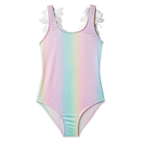 Stella Cove Rainbow Petal Swimsuit