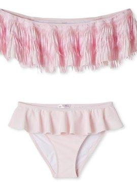 Stella Cove Pink Fringe Bikini