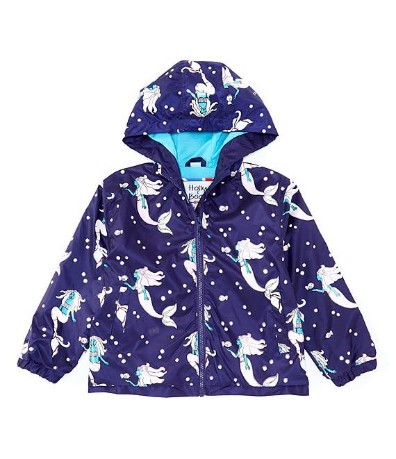 Color Changing Raincoat